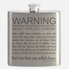 Don't give them your grilled cheese Flask