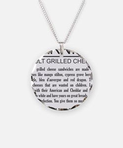 Don't give them your grilled Necklace