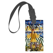 The Juggler Large Luggage Tag