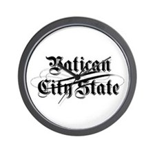 Vatican City State Wall Clock