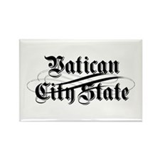 Vatican City State Rectangle Magnet (100 pack)