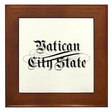 Vatican City State Framed Tile