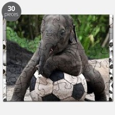 Elephant Soccer Puzzle
