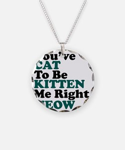 Kitten Meow Funny Necklace