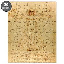 Da Vincis Vitruvian Man Puzzle