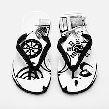 Interfaith Logo Flip Flops