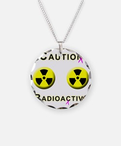 Caution Radioactive Necklace