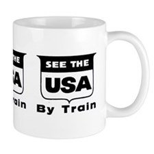 See The USA By Train ! Mug