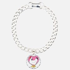 Backyard Chicken Luv Bracelet