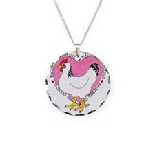 Backyard Chicken Luv Necklace
