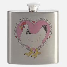 Backyard Chicken Luv Flask
