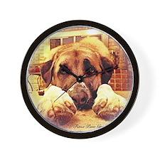 Mariska PawsFirst Wall Clock