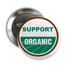 "Support Organic 2.25"" Button"