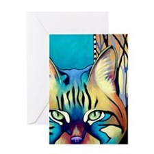 Suhara Cat Greeting Card