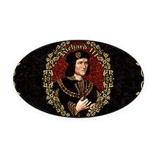 Richard III Oval Car Magnet