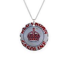 Red Crown Gasoline Necklace