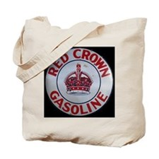 Red Crown Gasoline Tote Bag