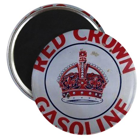 Red Crown Gasoline Magnet