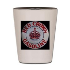 Red Crown Gasoline Shot Glass