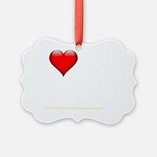 I Love My Twink darkapparel Ornament