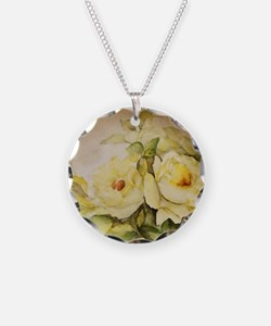 Yellow Roses Necklace