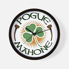 pogue-mahone-LTT Wall Clock