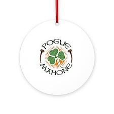 pogue-mahone-LTT Round Ornament