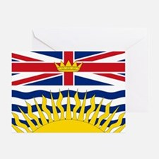 British Columbian Flag Greeting Card