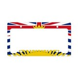 British columbia License Plate Frames
