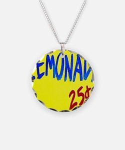 lemonade sign Necklace