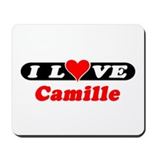 I Love Camille Mousepad