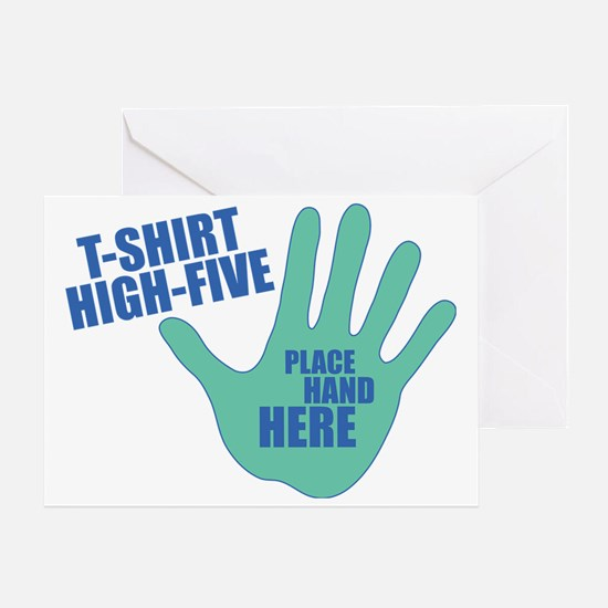 High-Five Greeting Card