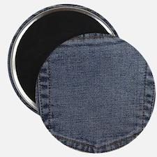 Blue Denim Pocket Magnet