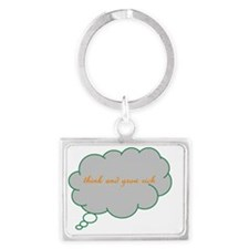 Think and Grow Rich Landscape Keychain