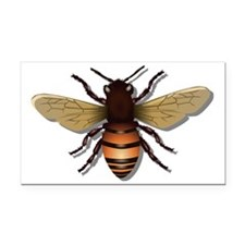 Bee Rectangle Car Magnet