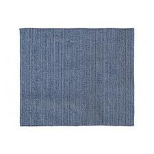 Blue Denim Throw Blanket