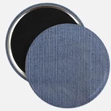 Blue Denim Magnet