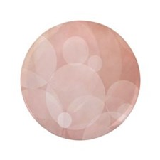 "Peachy Bliss 3.5"" Button"