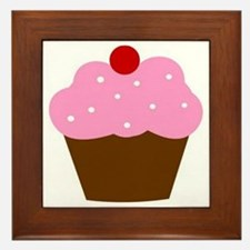 Cupcake Framed Tile