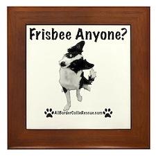 Frisbee Anyone? Framed Tile