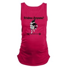 Frisbee Anyone? Maternity Tank Top