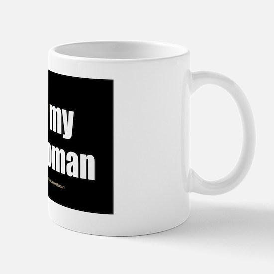 I Love My Irie Woman wallpeel Mug