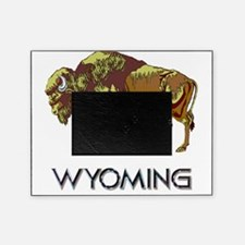 Wyoming state crest e8 Picture Frame