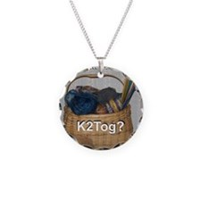 Would You Like To K2tog? Necklace