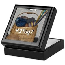 Would You Like To K2tog? Keepsake Box