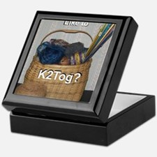 Would You Like To K2tog? Keepsake Box