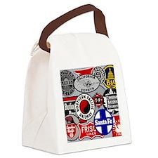 Railroad Canvas Lunch Bag