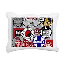 Railroad Rectangular Canvas Pillow