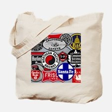 Railroad Tote Bag