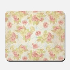 Pretty Pink Flowers Mousepad